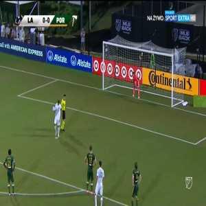 Steve Clark (Portland Timbers) PK save vs. Los Angeles Galaxy (12')