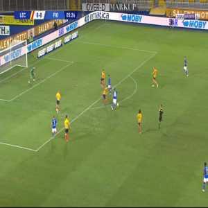 Lecce 0-1 Fiorentina - Federico Chiesa 6'