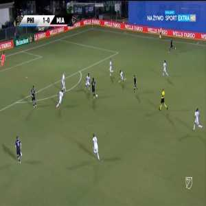 Philadelphia Union 1-[1] Inter Miami - Rodolfo Pizarro 36'