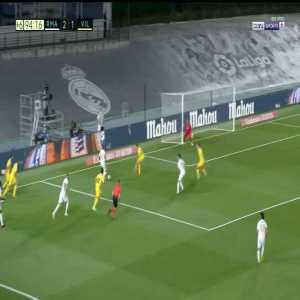 Marco Asensio disallowed goal vs. Villarreal 90+5'