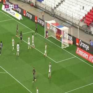 Lyon [1]-0 Celtic: Moussa Dembele 4'