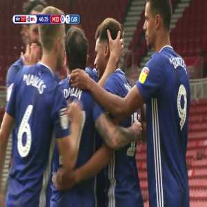 Middlesbrough 0-2 Cardiff City: Murphy 47'