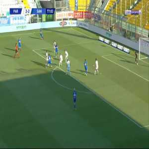 Parma 2-[3] Sampdoria - Federico Bonazzoli 78'