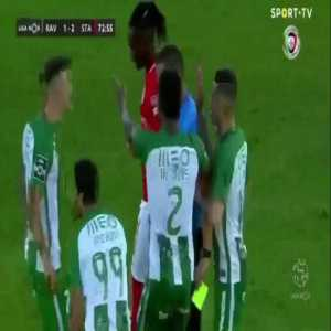 In January this sub got upset because of a bad call from a ref between Valencia and Barça concerning the advantage rule. I mentioned that it was a normal call in Portugal. Here's the latest example.