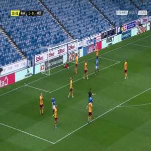 Rangers [2]-0 Motherwell: Ianis Hagi 11'