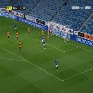 Rangers [4]-0 Motherwell: Ricki Lamie (OG) 68'