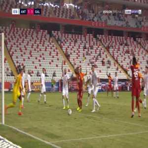 Antalyaspor 1-[2] Galatasaray - Younes Belhanda penalty 65'