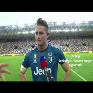 De Ligt answers in fluent Italian after 1 year in Italy