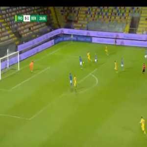 Frosinone [1]-1 Benevento - Niccolo Brighenti 30'