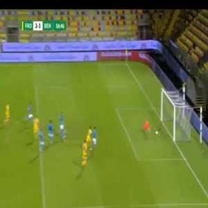 Frosinone [2]-3 Benevento - Federico Dionisi 59'
