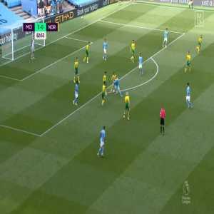 Manchester City [4] - 0 Norwich - Mahrez 83'