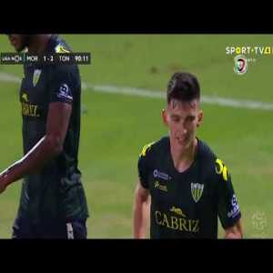 Moreirense 1 - [2] Tondela - Pepelu 90' (Penalty + Call)