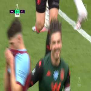 West Ham 0 - [1] Aston Villa - Grealish 84'