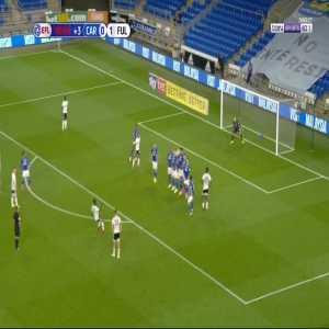 Cardiff 0 - [2] Fulham - Kebano Freekick 90+1'