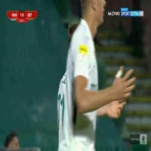 Warta Poznań 1-0 Bruk-Bet Termalica Nieciecza - Michał Jakóbowski 61' (Polish I liga)