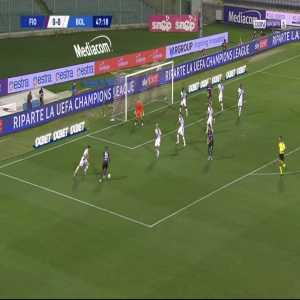 Fiorentina 1-0 Bologna - Federico Chiesa 48'
