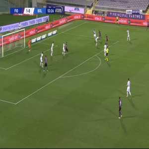 Fiorentina 2-0 Bologna - Federico Chiesa 54'