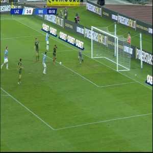 Lazio 2-0 Brescia - Luis Alberto miss 89'