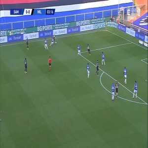 Sampdoria 0-1 Milan - Zlatan Ibrahimović 4'