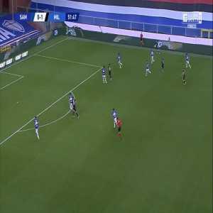 Sampdoria 0-2 Milan - Hakan Çalhanoğlu 52'