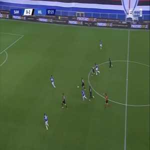 Sampdoria 0-3 Milan - Zlatan Ibrahimović 58'
