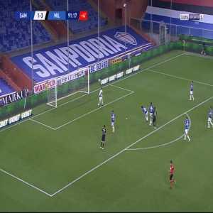 Sampdoria 1-[4] Milan - Rafael Leao 90'+2'