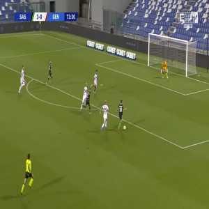 Sassuolo 4-0 Genoa - Giacomo Raspadori 74'