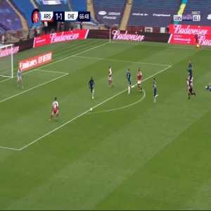 Arsenal [2] - 1 Chelsea - Aubameyang 67' [FA Cup Final]