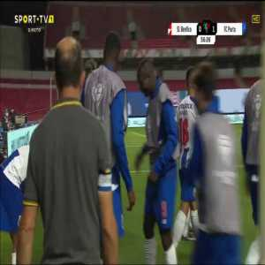 Benfica 0-[2] FC Porto - Mbemba 59'
