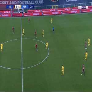 Genoa 1-0 Verona - Antonio Sanabria 13'