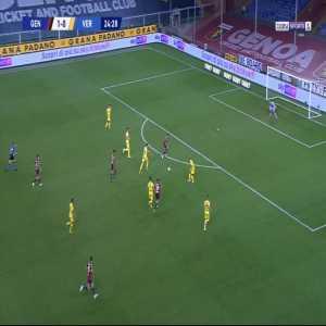 Genoa 2-0 Verona - Antonio Sanabria 25'