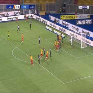 Lecce [2]-2 Parma - Biagio Meccariello 45'