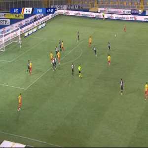 Lecce [3]-4 Parma - Gianluca Lapadula 69'