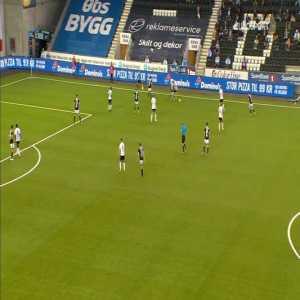 Odd 1-0 Rosenborg - Kasper Lunding 28'
