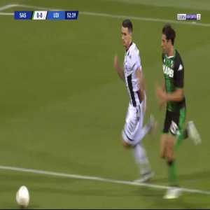Sassuolo 0-1 Udinese - Stefano Okaka 53'