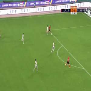 Shanghai SIPG (3)-0 Hebei China - Ricardo Lopes 1st goal
