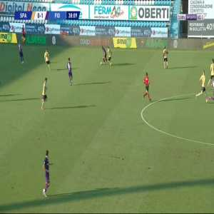 Spal [1]-1 Fiorentina - Marco D'Alessandro 39'