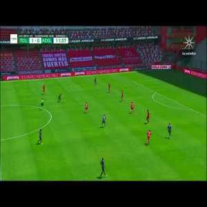 Toluca 1 - [1] Atletico San Luis (G. Berterame 12')