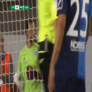 Alberto Brignoli (Empoli) penalty save against Chievo 56'