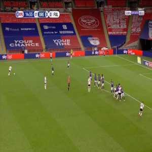 Brentford 0 - [1] Fulham - Bryan J. Freekick 105+2'