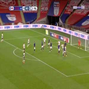 Brentford [1] - 2 Fulham - Dalsgaard H. 120+3'