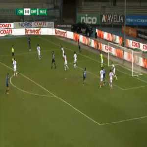 Chievo 1-0 Empoli - Luca Garritano 97'