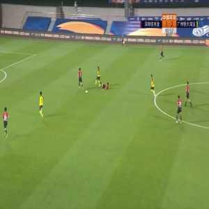 Shenzhen 1-(3) Guangzhou Evergrande - Paulinho goal