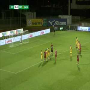 Cittadella 1-0 Frosinone - Davide Diaw penalty 4'