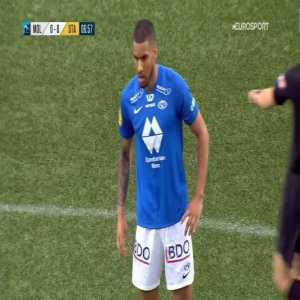 Molde 1-0 Start - Ohi Omoijuanfo PK 8'