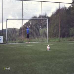 The 'magic' penalty shot fooled the world