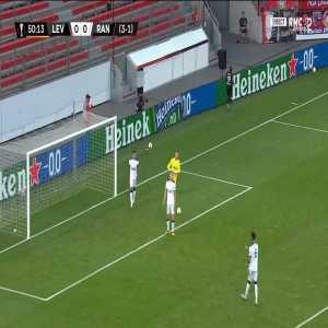 Bayer Leverkusen [1] - 0 Rangers - Moussa Diaby 51' [4-1 on agg.]