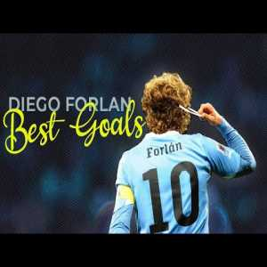 Diego Forlan - One of the best left foots of all time. And he was right footed.