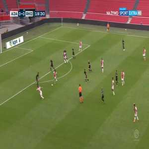 Ajax 1-0 Waalwijk - Lassina Traoré 20'