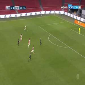 Ajax [6]-1 Waalwijk - Klaas-Jan Huntelaar 90'
